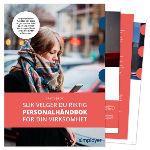 E-bok Slik velger du riktig personalhåndbok for din virksomhet