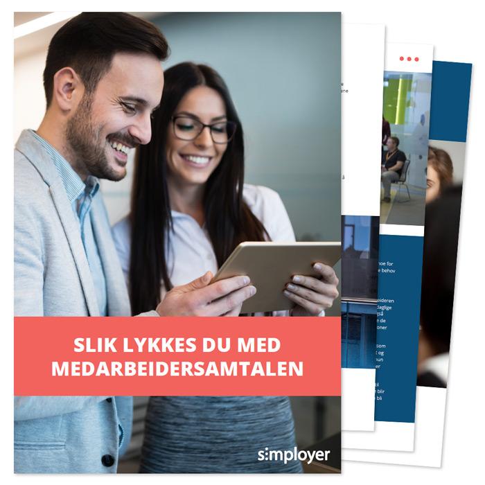 E-bok Slik lykkes du med medarbeidersamtalen