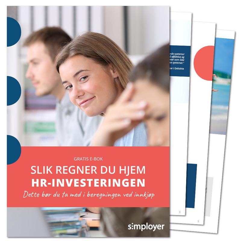 E-bok Slik regner du hjem HR-investeringen